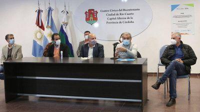Fuerte asociación de empresas tecnológicas y el campo en Río Cuarto
