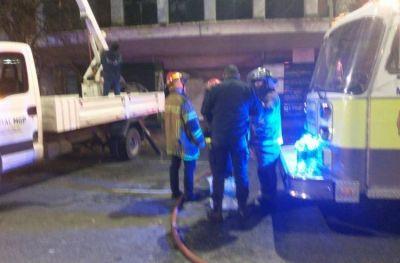 Montenegro felicitó el accionar de bomberos y Defensa Civil en el incendio de esta madrugada