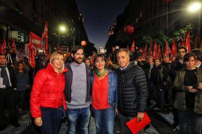 El Frente de Izquierda presentó sus candidatos y busca ser la tercera fuerza