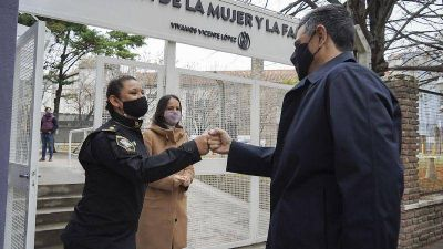 Finalizaron las obras de la comisaría de la mujer de Vicente López