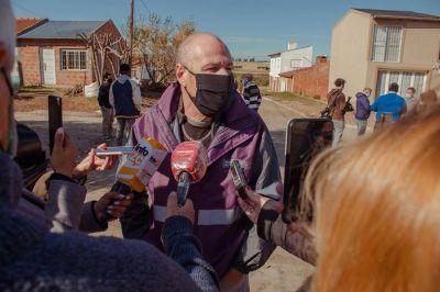 """Agostinelli: """"La planta de tratamiento que tendrá Cardales Chico permitirá darle cloacas a los vecinos de San Jorge"""""""