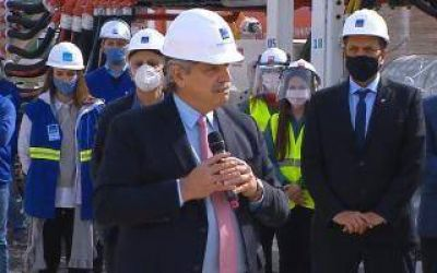Presidente Perón: Alberto Fernández inaugura Planta Depuradora de Aysa en Guernica
