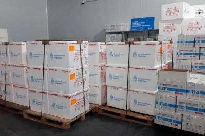 Llegaron a Córdoba más de 110 mil nuevas dosis de vacunas contra el Covid-19