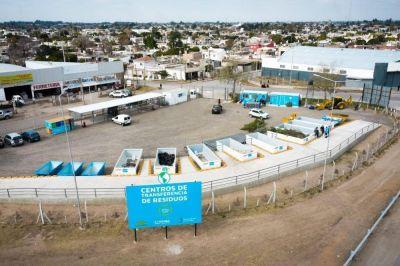 Ya funciona el primer Centro de Transferencia de Residuos en Córdoba