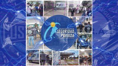 El Bloque Nacional de Seguridad Privada sale a las calles a fiscalizar a las empresas.