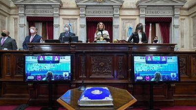El Senado aprobó decretos de ampliación del plan de vacunas y medidas contra la Covid