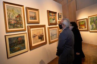 En el Museo de Arte Tigre, Julio Zamora inauguró una muestra con obras donadas por el coleccionista Carlos Franck