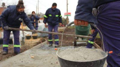 Echeverría intensifica actividades territoriales con titulares de Potenciar Trabajo