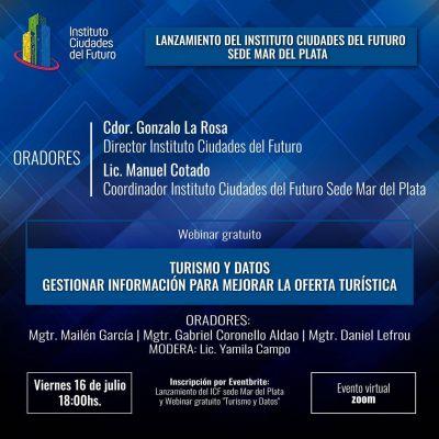 Llega a Mar del Plata el Instituto Ciudades del Futuro