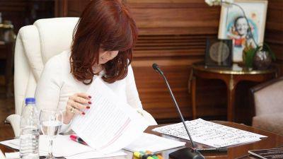 Cristina Kirchner consideró