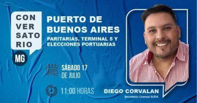 Conversatorio MG: Elecciones en sindicatos y la actualidad del Puerto de Buenos Aires