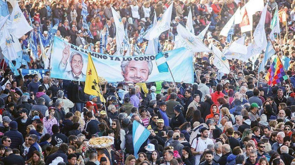 Elecciones: El FdT avanza hacia un