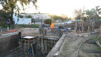 Merlo: Avanza la obra hidráulica del arroyo Torres