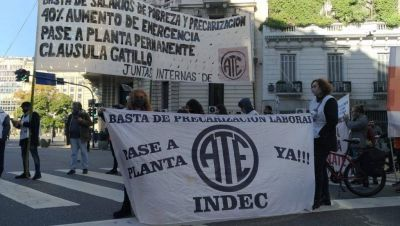 Sectores de ATE piden para la nueva paritaria una suba salarial por encima del 45%