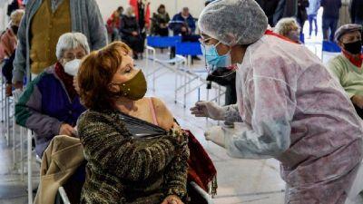 El 78% está vacunado con primera dosis y casi el 20%, con segunda