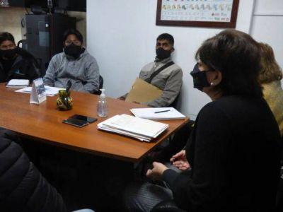 Reunión con integrantes de la Cooperativa de recuperadores «La fortaleza», de Abra Pampa