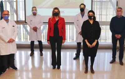 Marisa Fassi firmó el convenio definitivo de constitución del Hospital Néstor Kirchner SAMIC.