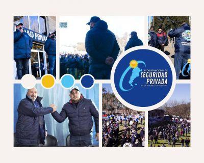 López y Requelme consolidan la unidad y accionan el músculo del Bloque Nacional de Seguridad Privada