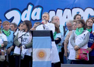 López no descartó una candidatura, pidió mas Yasky y Siley y dijo que Larreta se presenta como una paloma pero es tan halcón como Macri