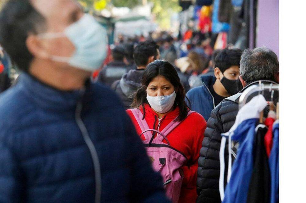 Coronavirus: se registraron 412 muertos y 12.764 nuevos contagios