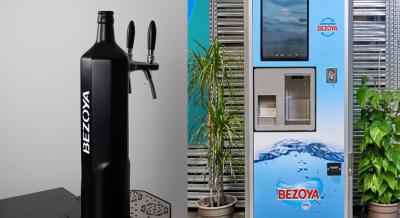 Bezoya crea dos modelos de negocio para beber agua mineral natural