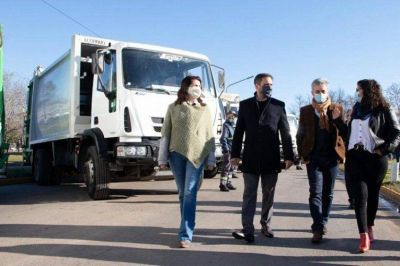 Moreno | El Municipio recibió 18 nuevos camiones compactadores de residuos