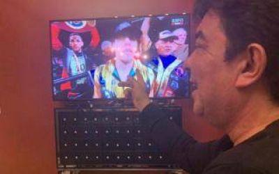 Fernando Espinoza, el único ganador de la pelea entre Castaño y Charlo: Catarata de publicidad, vacunas y fuertes críticas