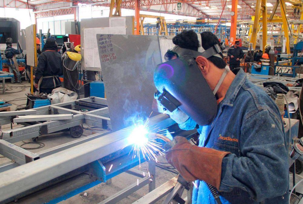 Traccionada por la construcción y la industria automotor la producción creció un 8,2 % en junio