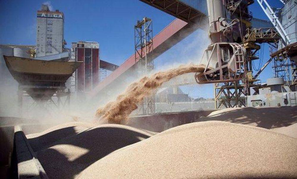Los dueños de la torta: Durante el primer semestre del año cuatro empresas estadounidenses y una argentina acapararon el 65 % de la exportación de granos