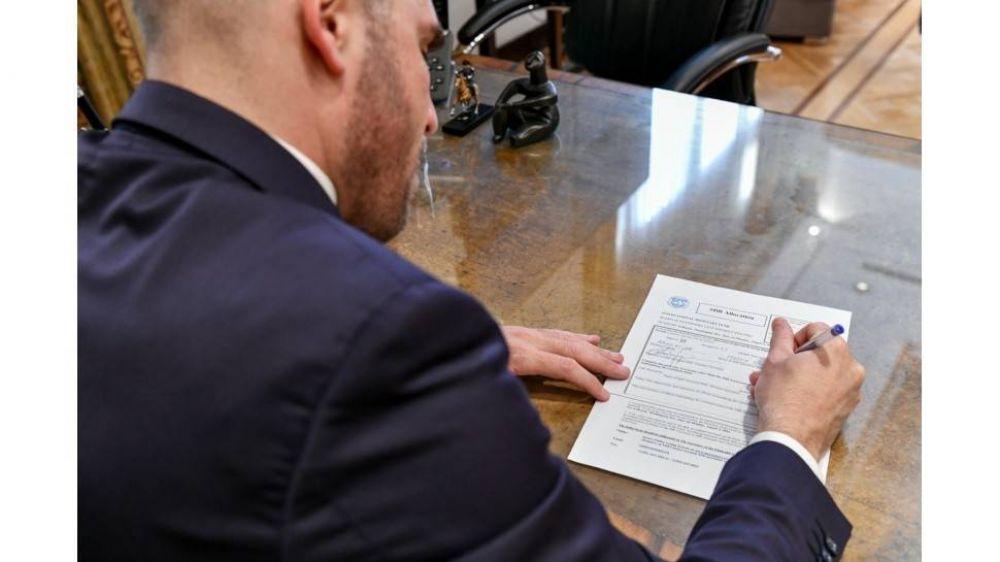 Guzmán votó en el FMI a favor del reparto de los DEG