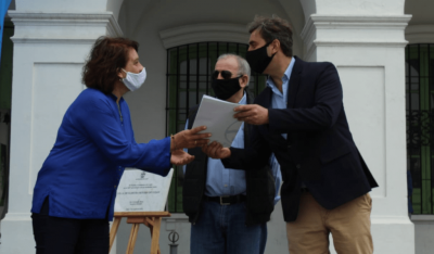 El Intendente acompañó a la Junta Municipal de Estudios Históricos