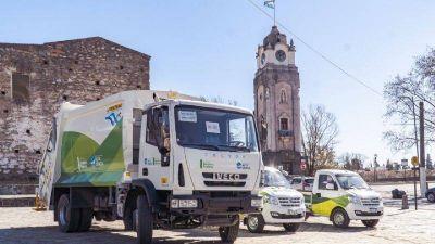 El municipio adquirió tres vehículos para la recolección de residuos