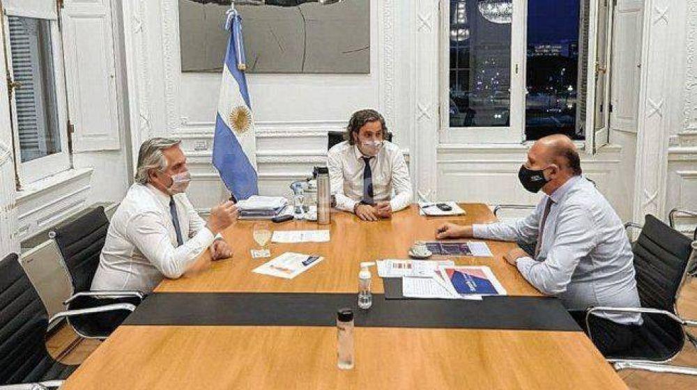 Elecciones 2021 Santa Fe: Perotti pasó por la Casa Rosada para confirmar sus candidatos