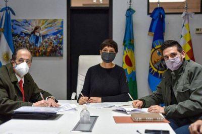 Quilmes y Edesur firmaron acuerdo para mejorar el servicio en 4 barrios