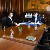 San Vicente: Se firmó un convenio para reactivar obras de infraestructura eléctrica