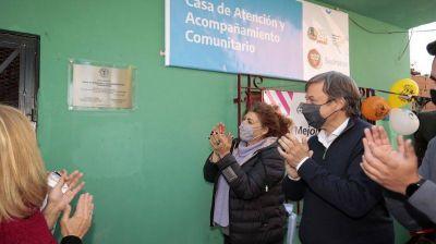 Almirante Brown: El Municipio y la SEDRONAR inauguraron una casa comunitaria en Rafael Calzada