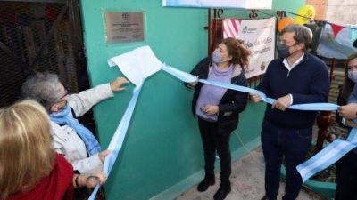 El intendente Cascallares inauguró una casa comunitaria en Rafael Calzada