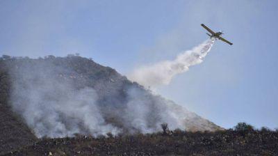 Incendios en Córdoba: aseguran que se quemó más del 50% de las Sierras en tres décadas