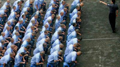 Los brutales campos de concentración del régimen chino tienen capacidad para albergar a más de un millón de musulmanes en Xinjiang