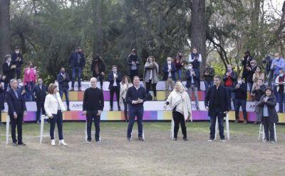 Con un discurso fuerte, Santilli desembarcó en la provincia de Buenos Aires