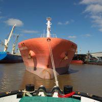 Importante movimiento de carga en el Puerto La Plata