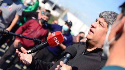 Pablo Moyano se involucra en el conflicto de Garbarino y analiza un acampe en Plaza de Mayo