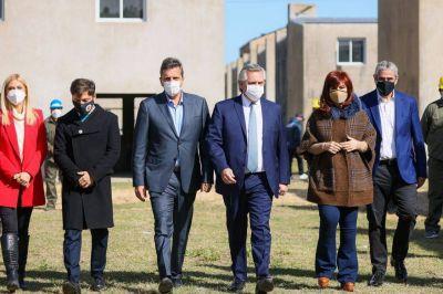Alberto en Olivos, Cristina con La Cámpora y Massa en Diputados, frenéticas reuniones a horas del cierre de las listas