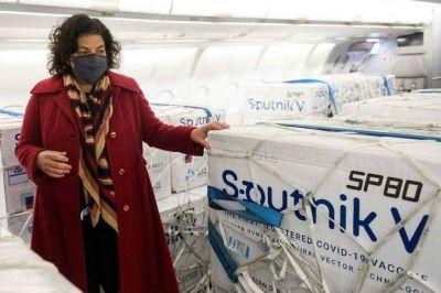 """Carla Vizzotti: """"La prioridad número uno del Gobierno es tener segundas dosis de Sputnik V"""