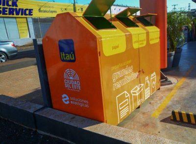 CDE instala Ecopunto para incentivar los productos reciclables