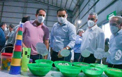 Gustavo Valdés dejó inaugurada la planta ambiental regional de Bella Vista