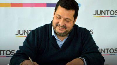Alejandro Vieyra encabeza la lista del oficialismo