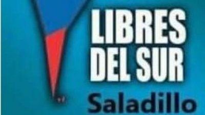 Libres del Sur presentó su lista a nivel local