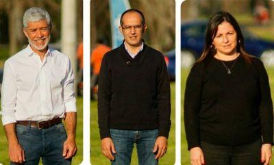Pablo Soria y Lorena Gallego encabezan la lista que aocompaña a Marcos Pisano en esta elección