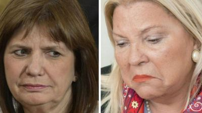 Patricia Bullrich le respondió a Elisa Carrió: